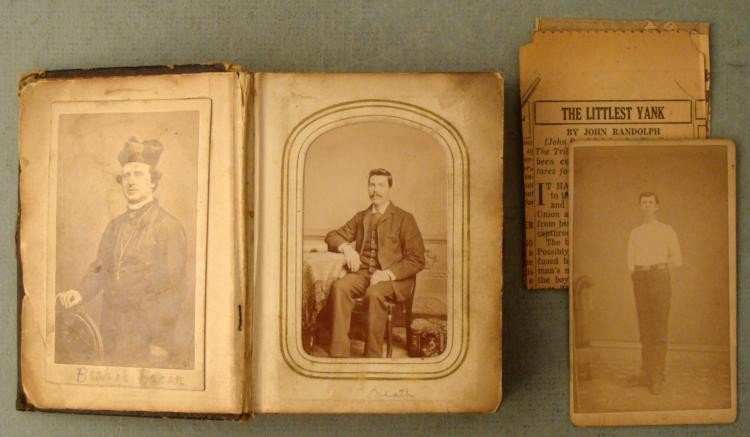 Civil War Photo Album 19 Photos Named w/ Soldiers