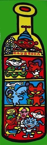 Bold and Vibrant MARCO Pop Art CLUB SODA Print