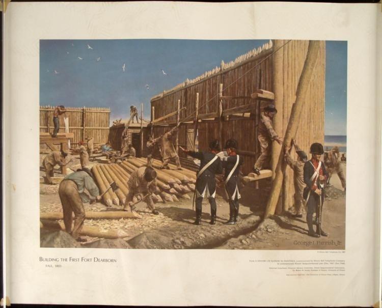 4 Historic Illinois Bell George I. Parrish Jr. Prints - 2