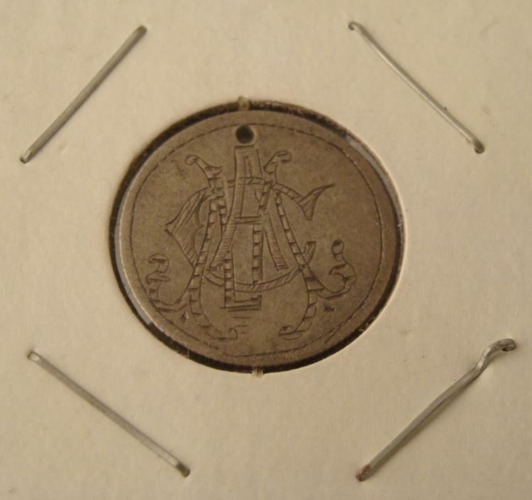 Early Seated Liberty Dime Silver Love Token
