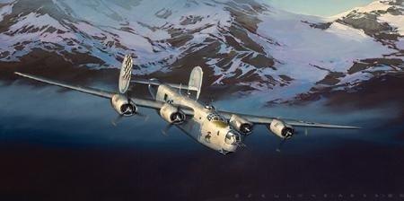 Aviation Art Liberator Jack Fellows B-24