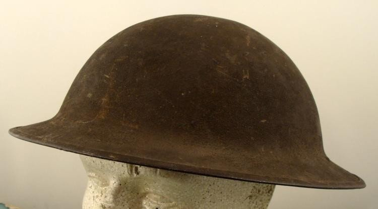 1917 WWI Steel Pie Dough Boy Doughboy Helmet Orig