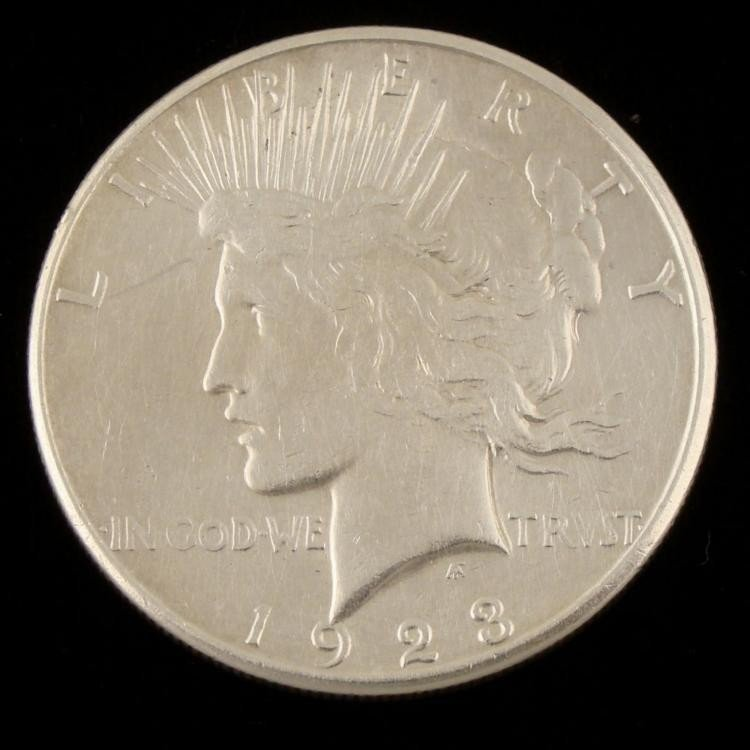 1923-S Peace Dollar High Grade