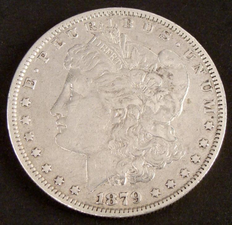 1 Nice 1879 Morgan Silver Dollar