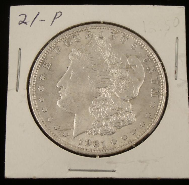 1921 Very High Grade Morgan Silver Dollar