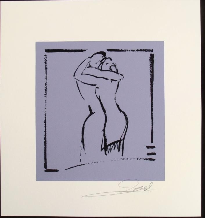 Alfred Gockel Serigraphs Final Kiss Art Signed Print