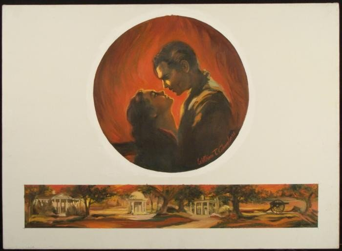 William Chambers Gone With The Wind Original Painting