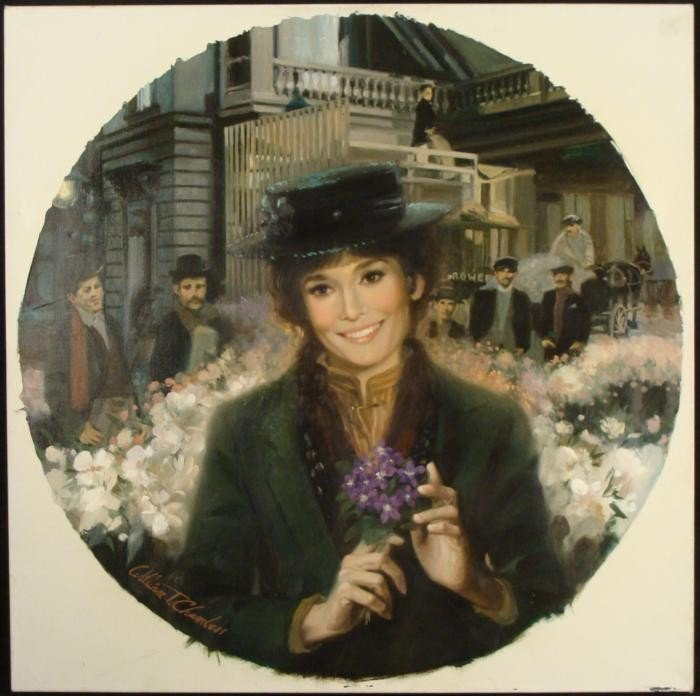 William Chambers Original Painting My Fair Lady Lovely