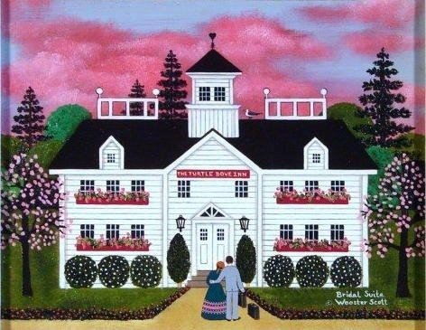 Bridal Suite by Jane Woooster Scott Original Oil 11x14