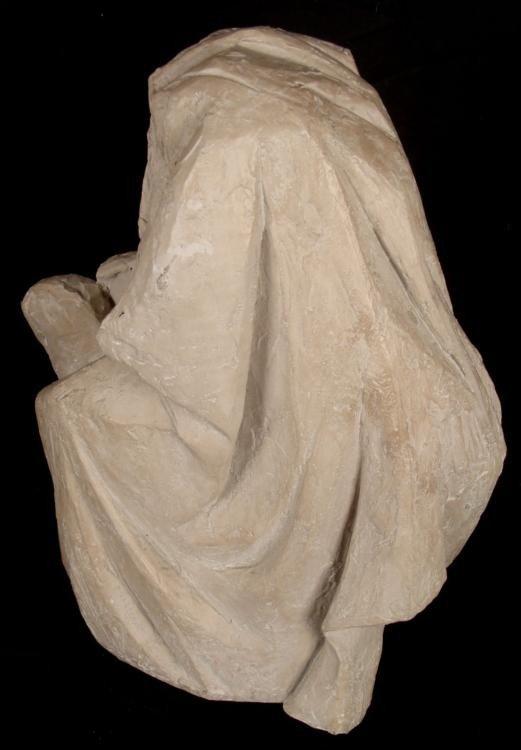 Arnold Henry Bergier Moses Ceramic Sculpture 1967 - 2