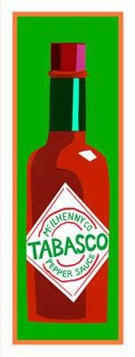 Clifford Faust Pop Art Print -Tabasco Pepper Sauce
