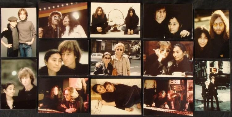 13 John Lennon & Yoko Ono 5x7 Photos 2nd Generation