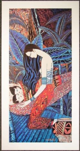 Lot 50 Ting Shao Kuang Yunnan TWINS Chinese Art Posters