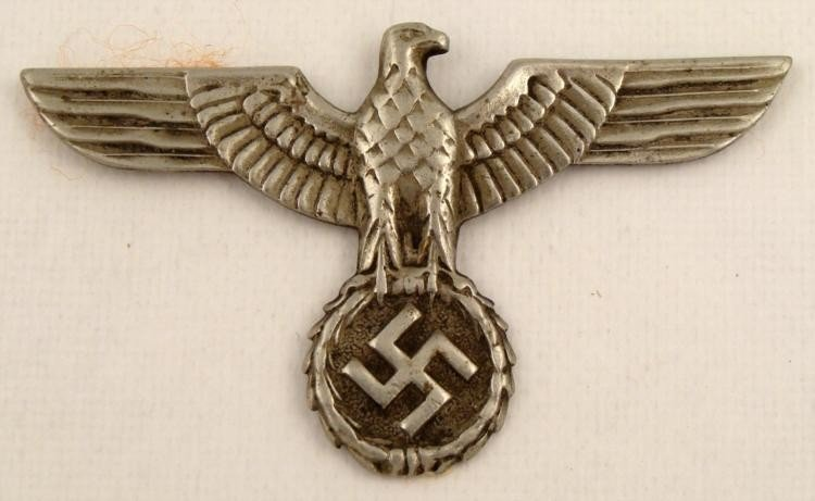 WWII Nazi German Eagle & Swastika Pin Original