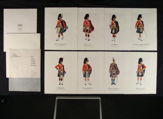 Hiram Walker Canadian Highland Military Print Portfolio
