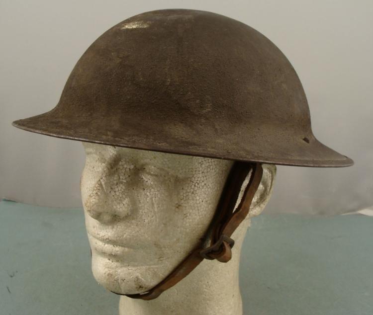 RIGINAL 1ST LIEUTENANT WWI U.S. DOUGHBOY HELMET