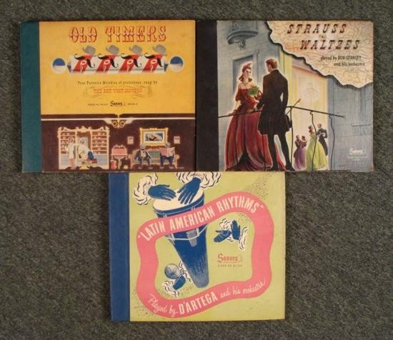 Lot 3 Sonora Albums - Old Timers, Latin American Rhythm