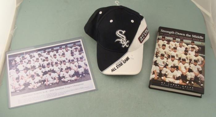 Chicago White Sox Baseball Cap Book 1959 Team Photo