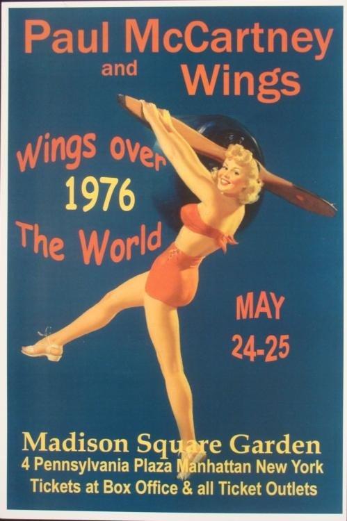 5 Concert Posters New Wave Madonna B-52's Oingo Boingo - 4