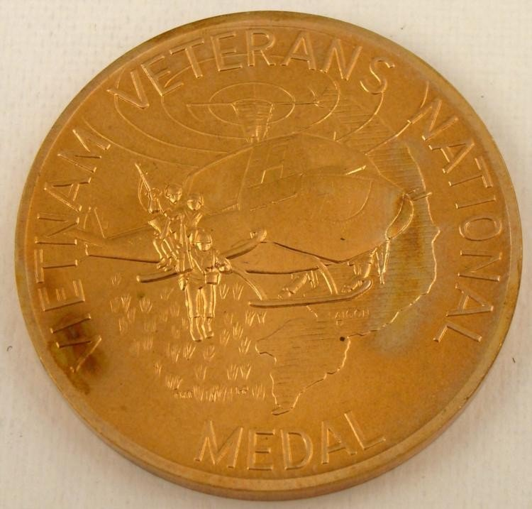 VIETNAM VETERAN'S NATIONAL MEDAL 1984