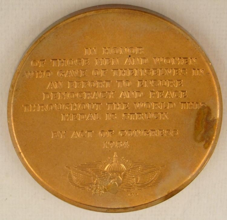 VIETNAM VETERAN'S NATIONAL MEDAL 1984 - 2