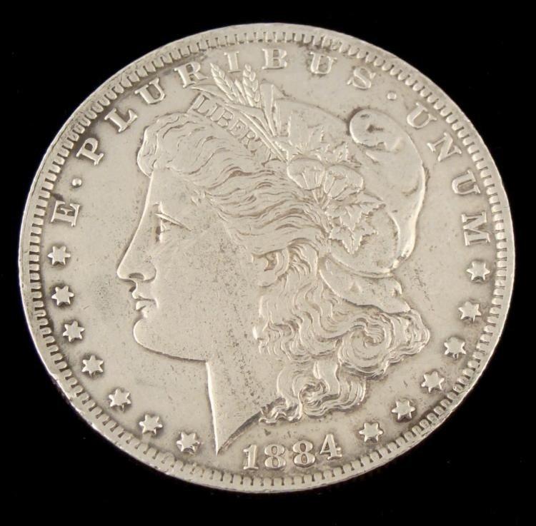 1884-O Hi-Grade Morgan Silver Dollar Coin