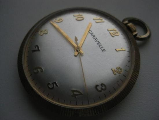 MWF1146 Vintage Caravelle pocket watch