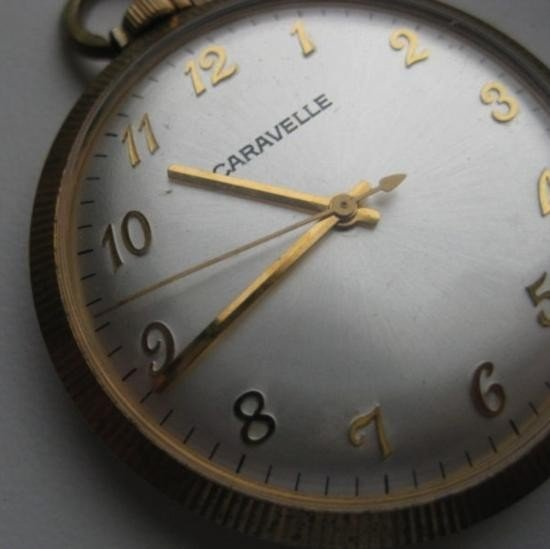 MWF1146 Vintage Caravelle pocket watch - 2