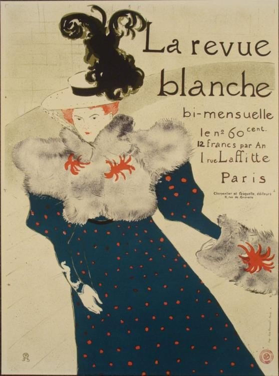 Henri de Toulouse-Lautrec : Le Revue Blanche Art Print