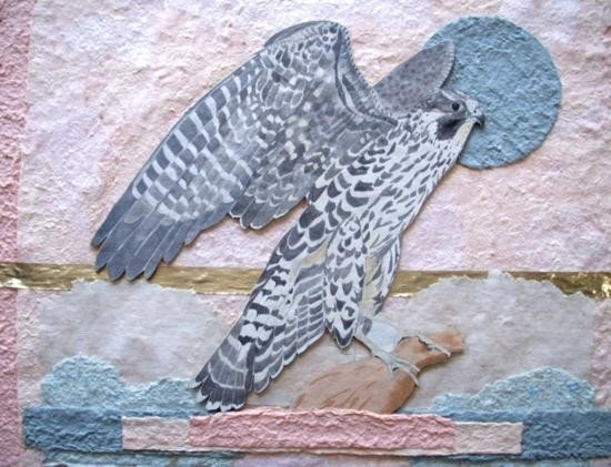 Peregrine Falcon By Coleman 34 x 35