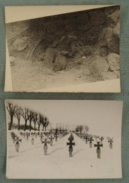 2 ORIGINAL (NOT REPRINTS) NAZI HORRORS OF WAR PHOTO