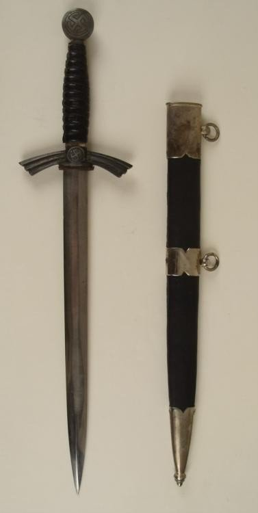 NAZI 1ST MODEL LUFTWAFFE DLV DAGGER