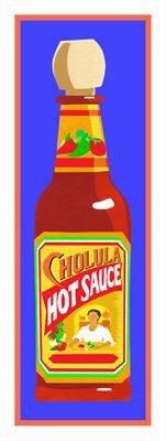 Clifford Faust Pop Art Print -Cholua Hot Sauce Bottle