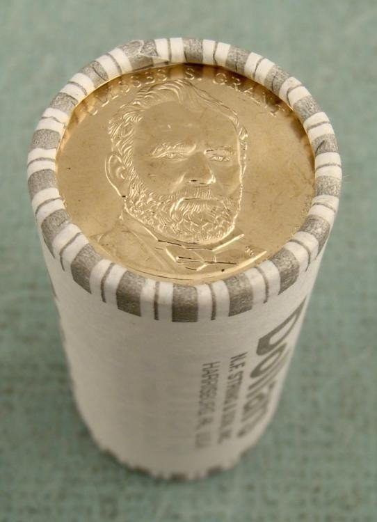 Bank Roll 2011-D Grant Presidential Dollars Gem UNC