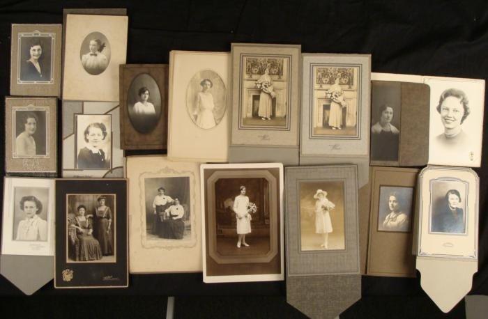 17 Antique Portrait Photographs 1900s Women Ladies