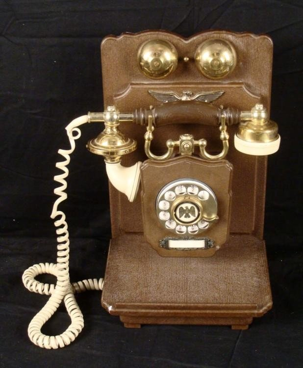 United States Telephone Company Antique Wall Phone