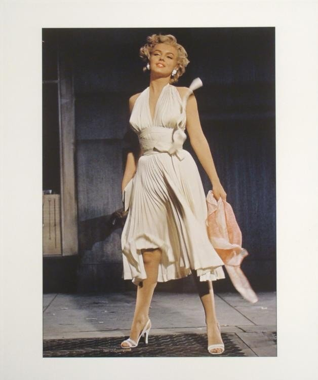 Marilyn Monroe Dress Photo-Org Negative Seven Year Itch
