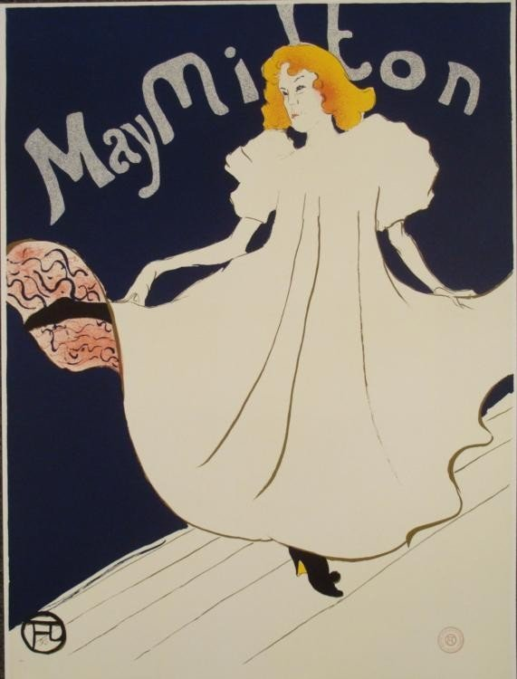 Henri de Toulouse-Lautrec : May Milton Dancer Art Print
