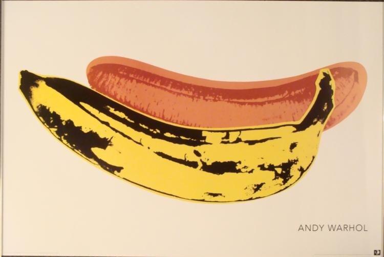 Andy Warhol : Banana, 1966 Art Print