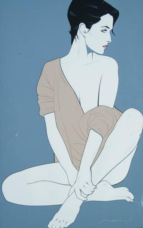 Patrick Nagel : Commemorative 4 Art Print