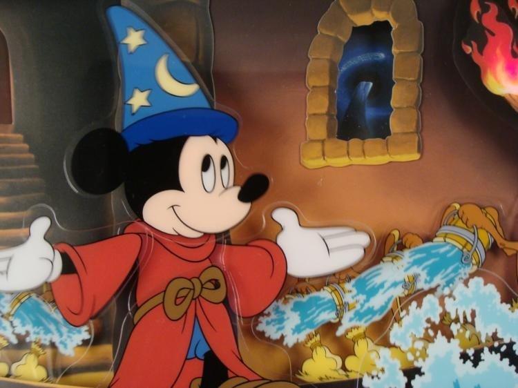 Sorcerers Apprentice Disney Fantasia Animated Picture - 4
