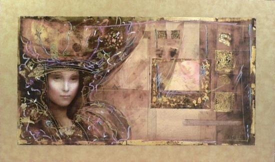Lady of Alexandria by Markus S/N 16x30