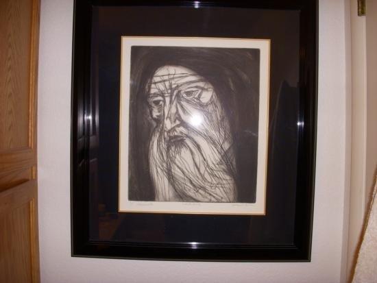 Jeremiah by Irving Amen Original Woodcut