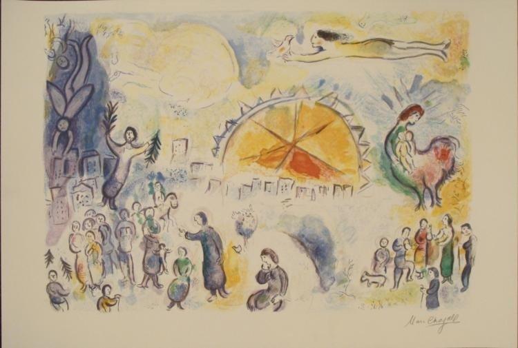 Marc Chagall: Four Seasons Art Print Ed. 2000