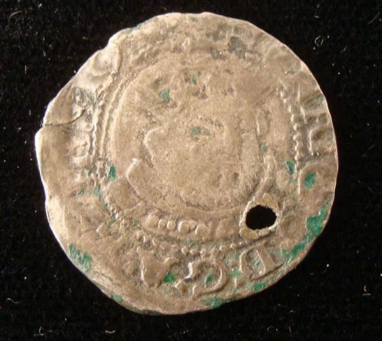 Henry VIII British Silver Posthumous Coin 1547-51 -Rare