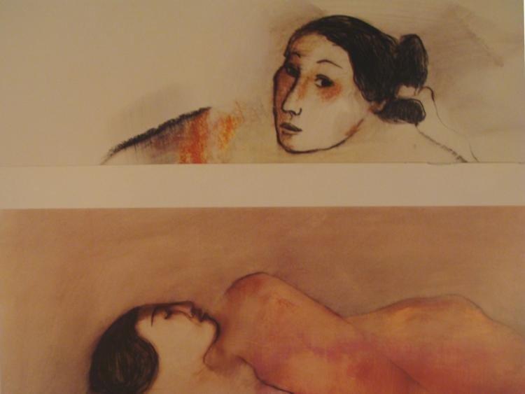 2 R.C. Gorman Prints Navajo Art -Winona, Rosa  - 2
