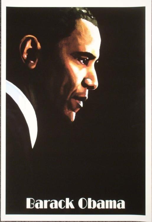 Barack Obama Art Print Hamid Abavista
