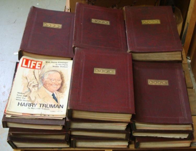 LIFE Magazine Hard Bound Collection 1936-1942 WWII Era