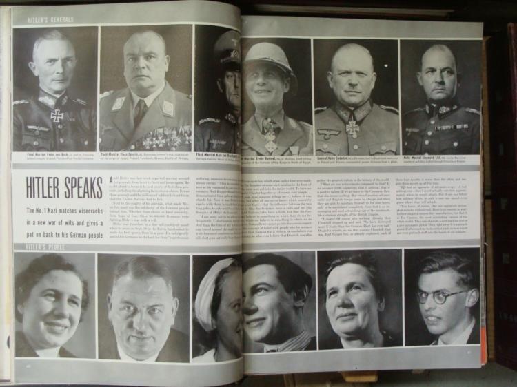 LIFE Magazine Hard Bound Collection 1936-1942 WWII Era - 5
