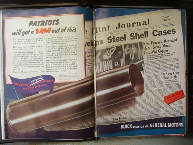 LIFE Magazine Hard Bound Collection 1936-1942 WWII Era - 6
